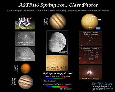 ASTR116 - Spring 2014