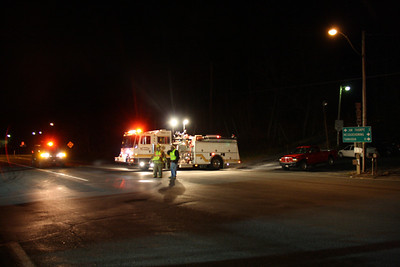 11-30-2011, Road Closed, Officer Hit, SR209 between Nesquehoning and JimThorpe (11-30-2011)