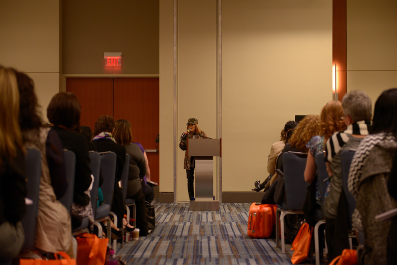 "Gaye Goad ""In The Hunt"" at the Women's Seminar"
