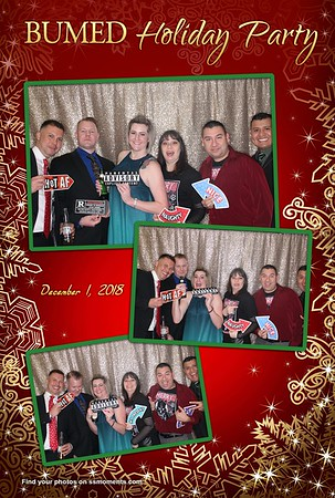 12/01/18 - BUMED's Holiday Party