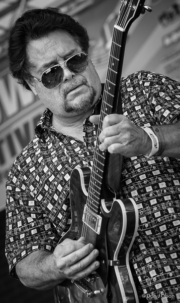 John Franken--Lisa Wenger and her Mean Mean Men-Lowertown Blues Festival 2015-Mears Park-St. Paul MN