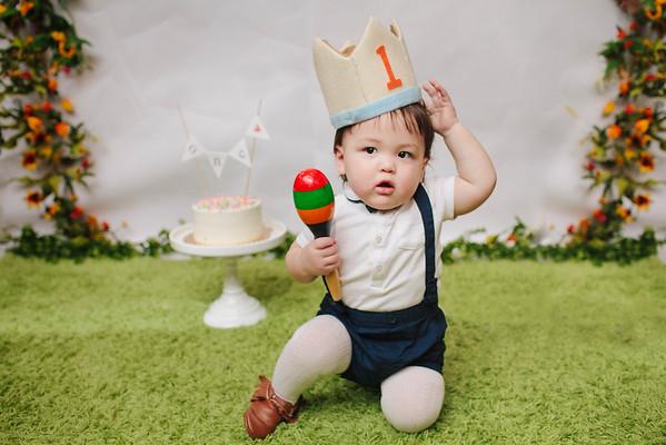 Marvin's 1st Birthday!