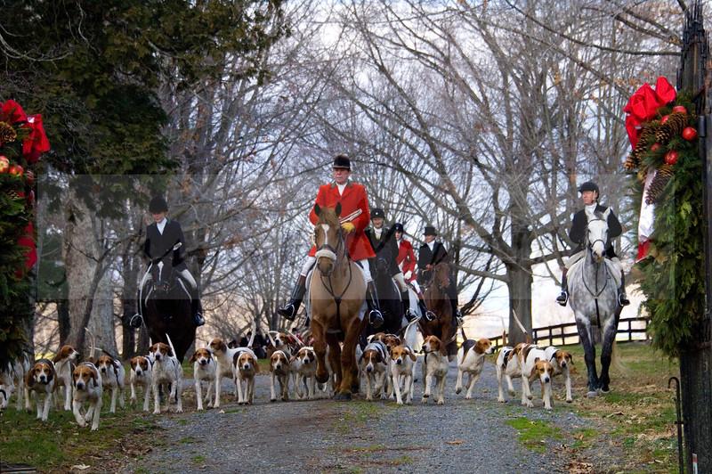 Middleburg Hunt at Huntland 12-19-15