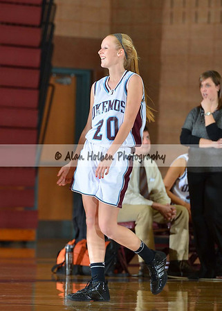 Girls Basketball Dewitt at Okemos