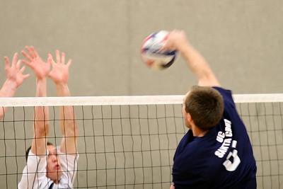 2009-03-11 Men's NCAA Volleyball - Juniata at UCSC
