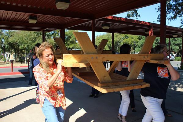 Cactus Ranch PTA donation to Voigt