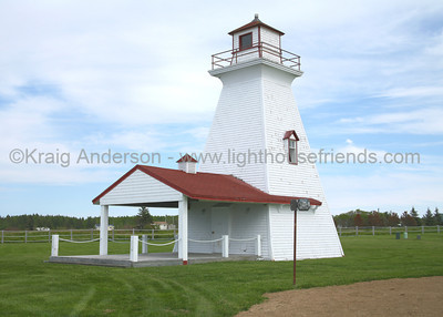 Caraquet Range Rear Lighthouse