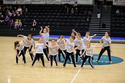 Rytme, dans og gymnastik 3-6 kl. Sydmors IF. 8. marts 2014 Arenaen Nyk. M.