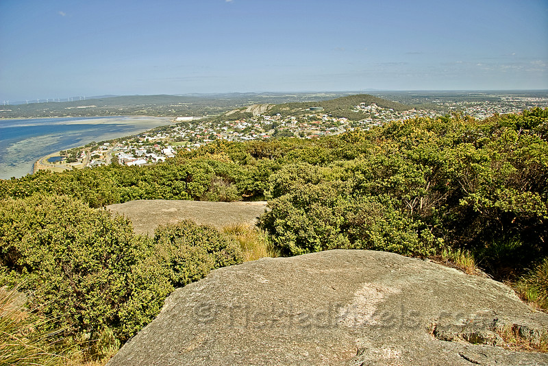 Albany, WA from Mount Clarence