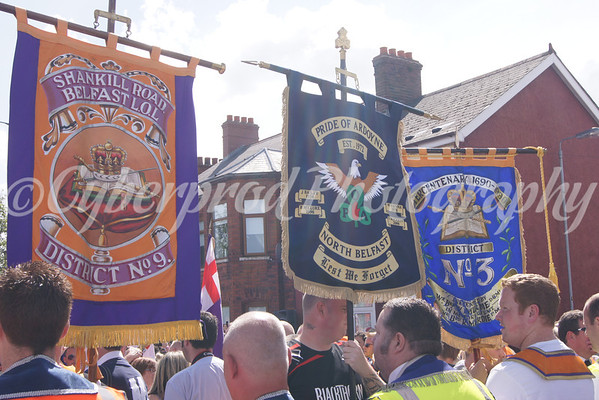 No' 1 District Protest Parade Woodvale Road
