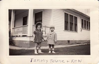 "Photos From Gramma Edith's ""foldable"" album"
