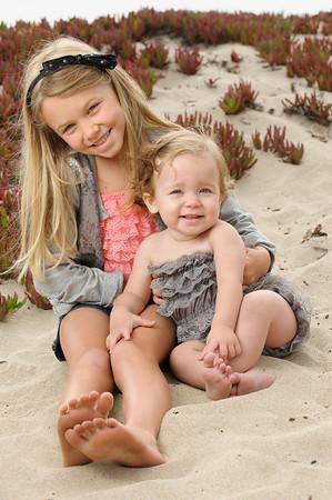 Nicole +  Todd = Leah > Liv (Family Photography, Seabright Beach, Santa Cruz, California)