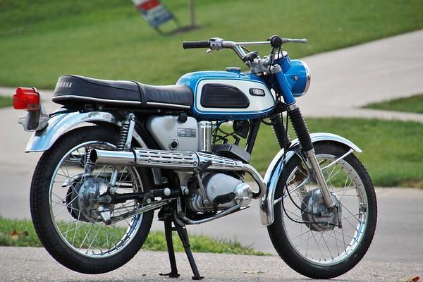 1968 Yamaha YAS1C two stroke twin