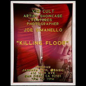 Killing Floor Art Show