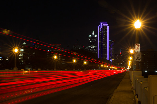 Follow the lights to down town