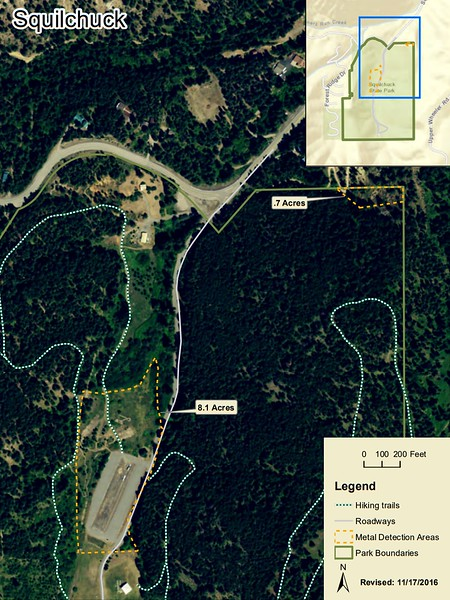 Squilchuck State Park (Metal Detection Areas)