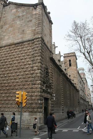 Barcelona January 2008 - Churches