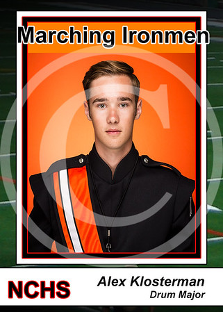 2016 Band Cards (cards created on request)