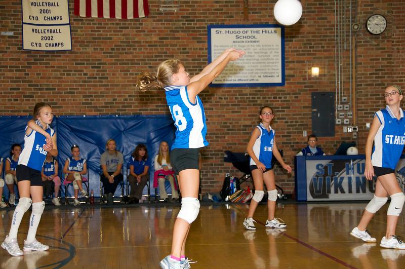 Hugo 5th Grade Volleyball  2010-10-02  3.jpg