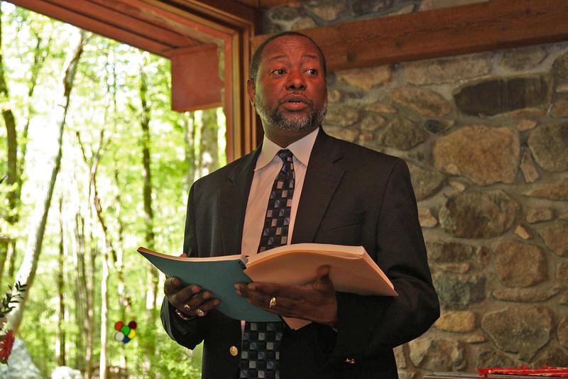 2004 Haiku Holiday conference at Bolin Brook Farm, Chapel Hill, NC.