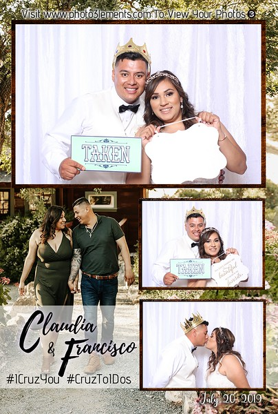 Claudia and Francisco 7-20-19