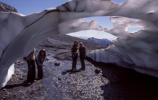 Mount Rainier Ice Caves fall  1980