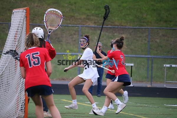 Albemarle versus Monticello girls lacrosse round two 2021