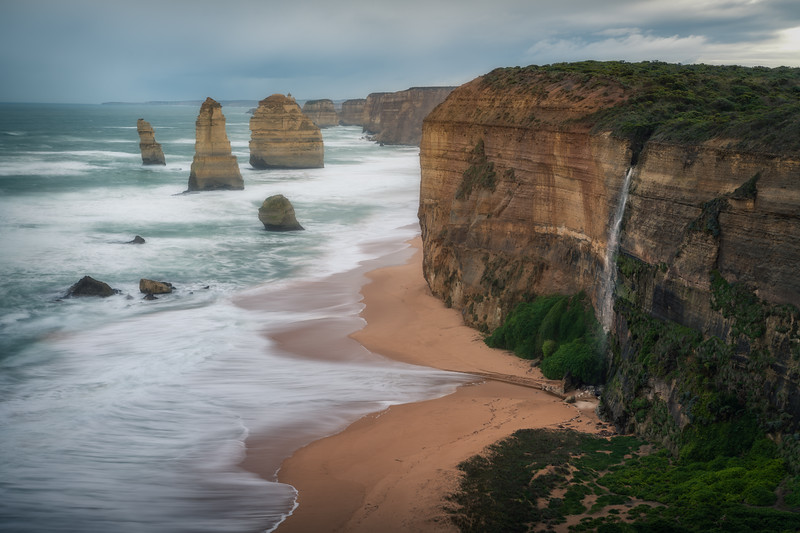 Falling Through the Ages || The Great Ocean Road