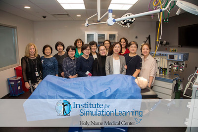 Korean Nurses Tour Holy Name