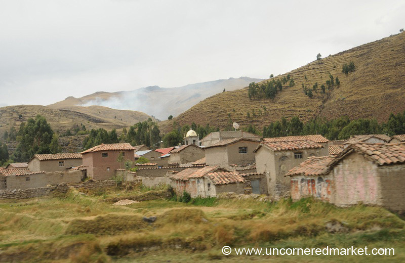 A Village Near Lake Titicaca - Puno, Peru to Copacabana, Bolivia