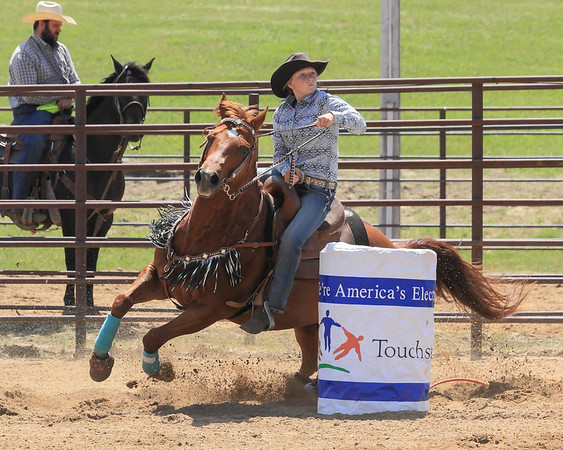 2017 SD East Region High School Rodeo - Saturday Events
