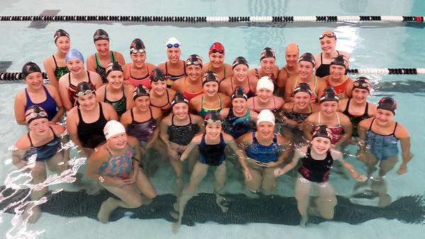 Delano Tigers Girls Swimming 2016-17