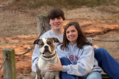 Chris & Lindsay & Gus