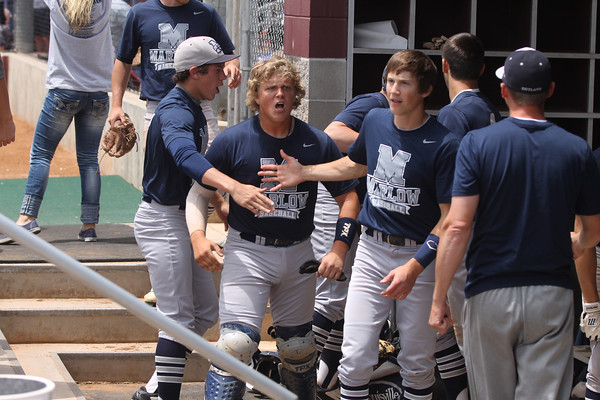 2014 Class 3A baseball state tournament first round Marlow vs. Cascia Hall