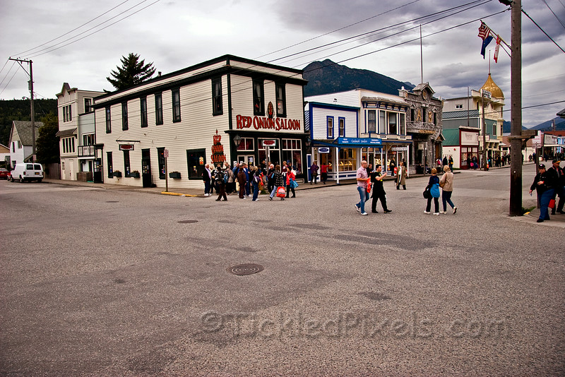 Corner of 2nd & Broadway, Skagway.jpg