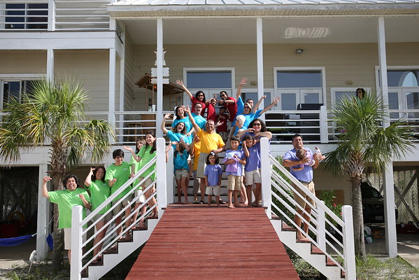 GUPTA Family Reunion - 2015 Gulf Shores