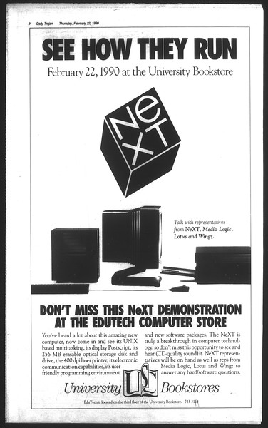 Daily Trojan, Vol. 111, No. 28, February 22, 1990
