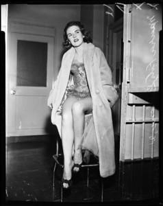 1957, Maura Fitzgibbons Arrested