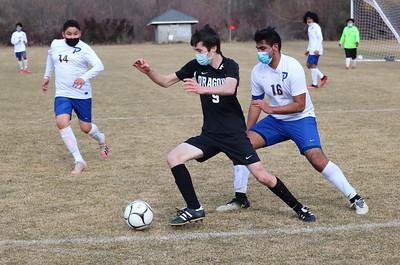 US Boys Soccer vs Prescott 3-6-21