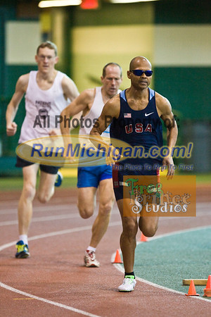 Distance Events - 2012 USATF Michigan Indoor Track & Field Championships
