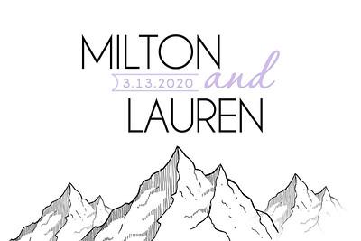 2020-03-13 Milton & Lauren