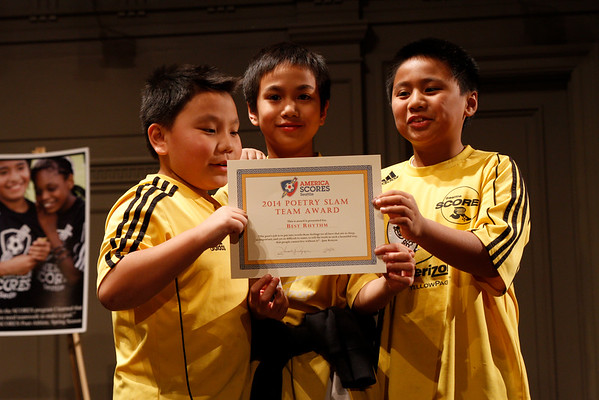 Seattle SCORES Youth Soccer and Poetry Slams