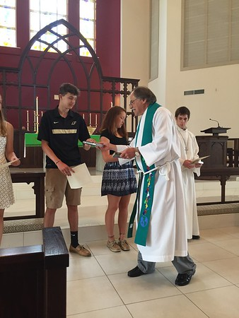 Confirmation and Reception 2017