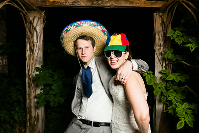 Christy and JW Photo Booth