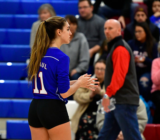 10/27/2018 Mike Orazzi | Staff St. Paul's Olivia Genovese (11) in Bristol Saturday.