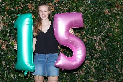 Caitlyn 15 jaar