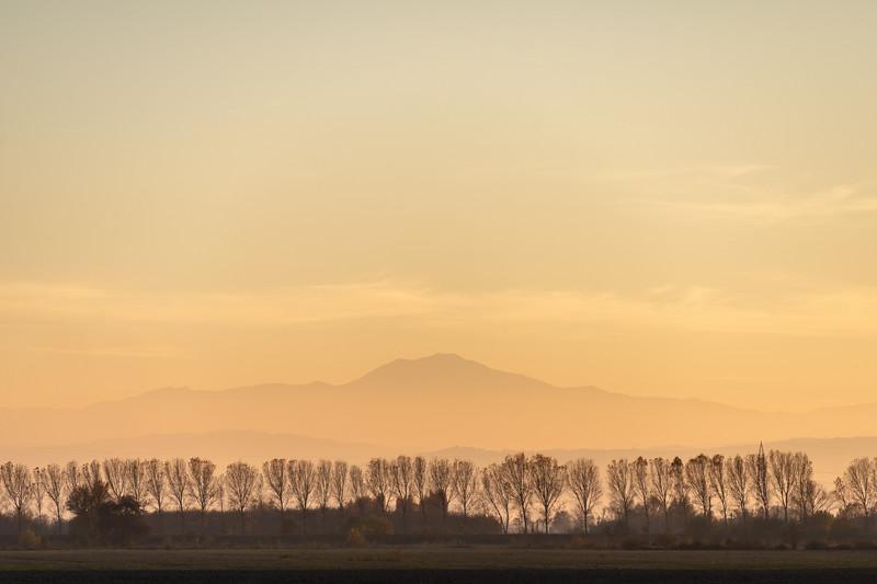 Monte Cimone - Crevalcore, Bologna, Italy - November 9, 2015