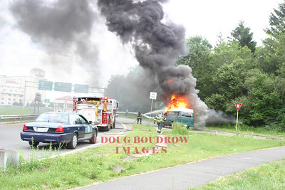Revere, MA - Vehicle Fire, Copeland Circle, 6-26-06