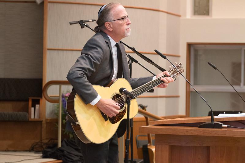 Bob Litman leads Avinu Shebashamayim -- Tour de Rudolph -- Retirement tribute for Rabbi Bill Rudolph, Congregation Beth El, Bethesda, MD, May 17, 2015