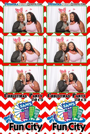 Sam's Fun City Christmas Party 12-16-2015
